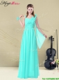 Low price Floor Length Elegant Bridesmaid Dresses in Apple Green