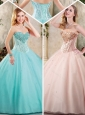 Exquisite Sweetheart Quinceanera Dresses with Beading
