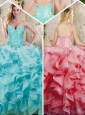 2016 Fashionable Ruffles Quinceanera Dresses with Appliques