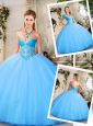2016 Lovely Sweetheart Quinceanera Dresses with Beading