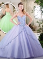 Cute Lavender Quinceanera Dresses with Appliques
