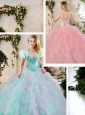 Perfect Multi Color Sweet 16 Dresses with Beading and Ruffles