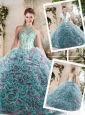 Pretty Halter Top Quinceanera Dresses with Appliques