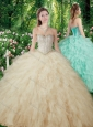 2016 Pretty Ball Gowns Beading and Ruffles Sweet 16 Dresses