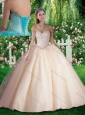 2016 Simple Beading Quinceanera Dresses for 16 brithday Party