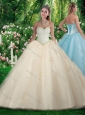 2016 Simple Princess Beading and Sweet 16 Gowns Dresses