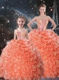 Beautiful Ball Gown Sweetheart Princesita with Quinceanera Dresses with Beading