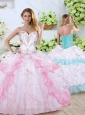 2016 Clearance Sweetheart Quinceanera Dresses with Beading and Pick Ups