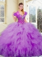Clearance Sweetheart Beading and Ruffles Sweet 16 Quinceanera Dresses