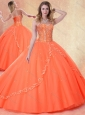 2016 Clearance Ball Gown Sweetheart Beading Sweet 16 Quinceanera Dresses