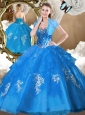 Unique Ball Gown Sweet 16 Quinceanera Dresses with Beading and Appliques