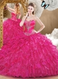Unique Sweetheart Quinceanera Dresses with Beading and Ruffles