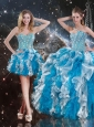 Pretty Sweetheart Multi Color Detachable   Quinceanera Dresses with Beading