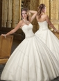 Top Selling Ball Gown Sweetheart Wedding Dresses with Beading 2016