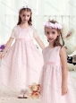 Gorgeous Empire Scoop Flower Girl Dresses with Belt