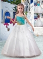 Best Ball Gown Flower Girl Dresses with Appliques and Beading