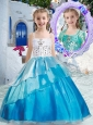 Beautiful Ball Gown Little Girl Pageant Dresses with Beading and Ruffles