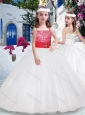 Wonderful Ball Gown Spaghetti Straps Flower Girl Dresses with Beading