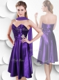 2016 Perfect Empire Sweetheart Elastic Woven Satin Beautiful Prom Dresses with Beading and Ruching