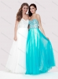 Luxurious Empire Tulle Long Prom Dress with Beaded Bodice
