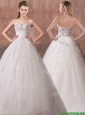 Beautiful A Line Sweetheart Wedding Dresses with Beading and Appliques