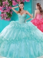 Exquisite Beaded and Pick Ups 15 Quinceanera Dresses with Really Puffy