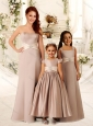 2016 Luxurious Beaded and Sashed Bridesmaid Dress with Empire