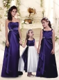 Gorgeous Beaded and Ruffled Bridesmaid Dress in Purple