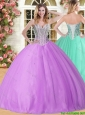 New Arrivals Big Puffy Lilac Quinceanera Dress with Beading