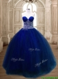 New Arrivals Beaded Tulle Quinceanera Dress in Royal Blue