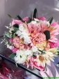 Perfect Spring Wedding Bouquet in Multi Color