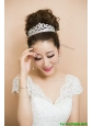 2017 Beautiful Beaded Silver Tiaras