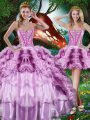 Floor Length Multi-color Quinceanera Dresses Sweetheart Sleeveless Lace Up