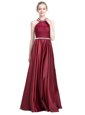 Red Prom Dresses Prom and Party and For with Ruching Sweetheart Sleeveless Zipper