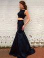 Sleeveless Brush Train Zipper Ruching Prom Party Dress