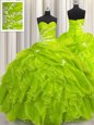 Enchanting Floor Length Ball Gowns Sleeveless Sweet 16 Quinceanera Dress Lace Up