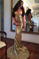 Mermaid Ruching Prom Dresses Black Zipper Sleeveless Sweep Train