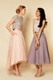 Designer Sequins A-line Prom Dresses Pink Scoop Organza Sleeveless Ankle Length Zipper