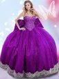 Enchanting Sweetheart Sleeveless Taffeta Sweet 16 Dress Beading and Lace and Bowknot Lace Up