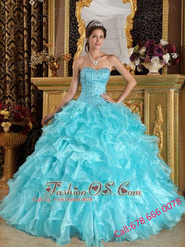 Sweetheart Quince Dresses
