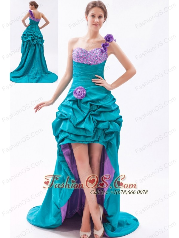 High Low Prom Dresses,Hi Lo Hem Prom Gowns,Pageant & Homecoming Dress