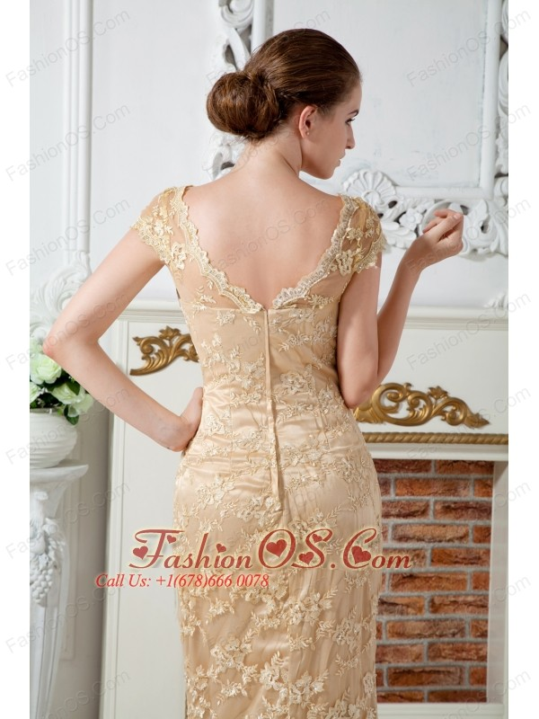 Embroidered Mother of the Bride Dresses