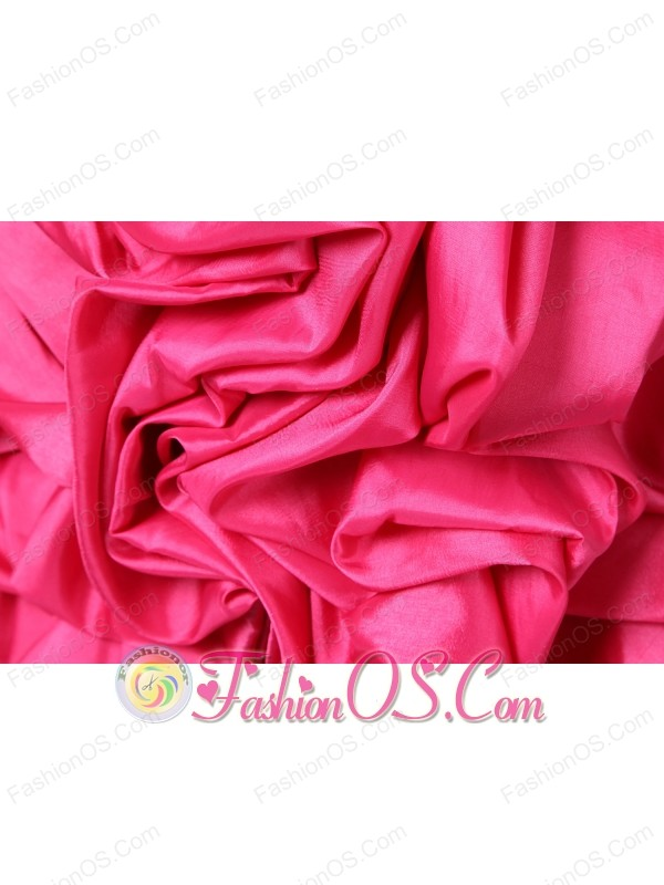 Coral Red Column Sweetheart Short Prom Dress Taffeta Beading Mini-length