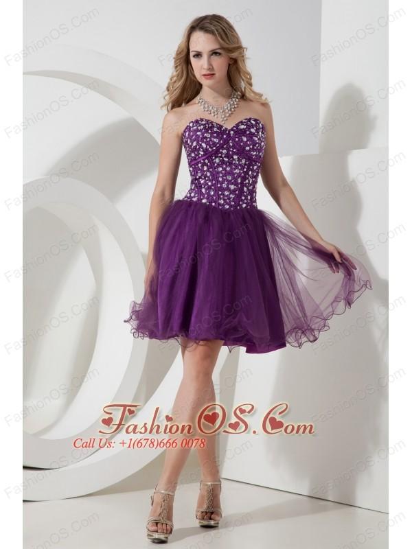 Purple Princess Prom Dresses
