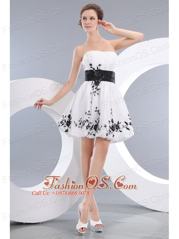 Vintage White Short Prom / Homecoming Dress A-line / Princess ...