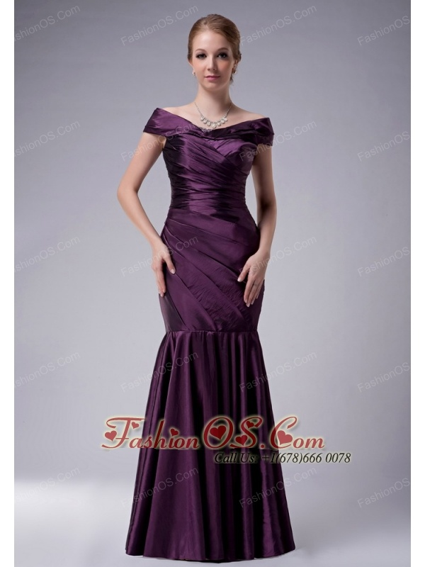 Mother Of The Bride Dresses Dark Purple 35