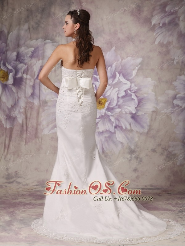 Beautiful Mermaid High Neck Lace Wedding Dress Court Train Beading