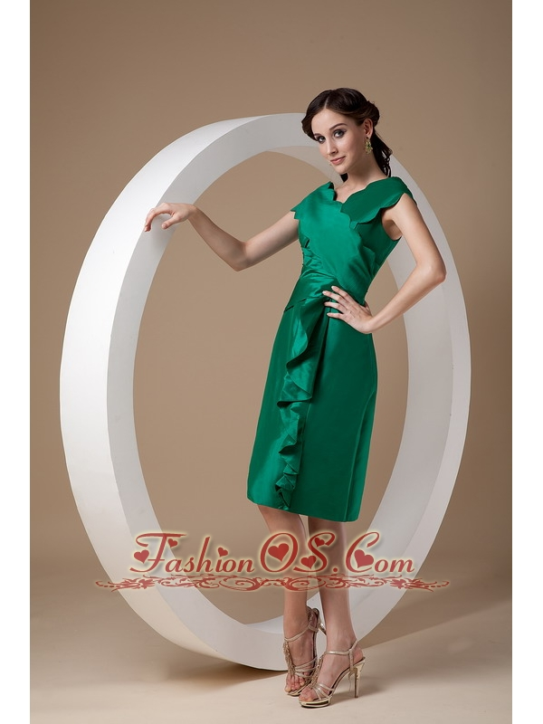 Green Mother Of The Bride Dress - Ocodea.com