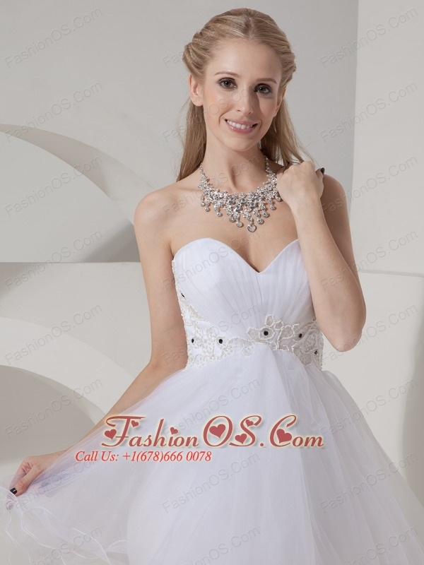 Cheap White Cocktail Dress A-line Sweetheart Organza Beading Mini-length