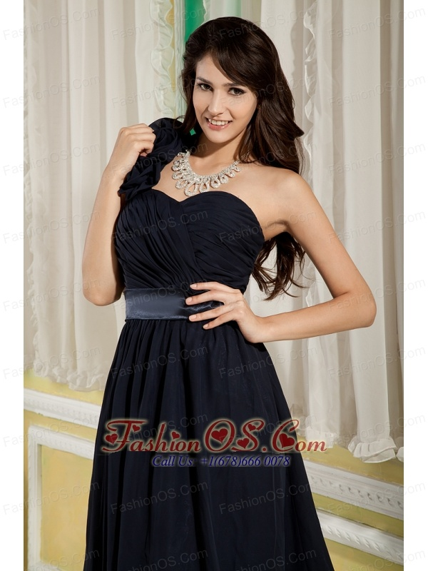 Navy Blue Bridesmaid Dress Under 100 A-line / Princess One ...